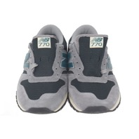 NEW BALANCE M770GN0 RUNNING SNEAKERS MENS SIZE 9.5 GREY/TEAL