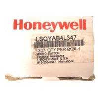 HONEYWELL LIMIT MICROS SWITCH LSQYAB4L347