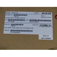 ARUBAHPE ARCN0104 7005-US 16 AP BRANCH CONTROLLER JW634A