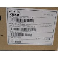 CISCO CATALYST BLADE SWITCH 3120X FOR HP W/ IP BASE WS-CBS3120X-S