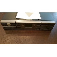 DELL POWERVAULT TL2000 LTO LIBRARY 2U W/OUT TAPE DRIVE + 0NN037 NN037 RAILS