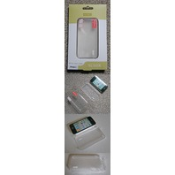 MING ULTRA THIN CASE & SCREEN GUARD AT&T IPHONE 4 CLEAR