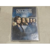 LAW & ORDER SPECIAL VICTIMS UNIT YEAR 17 (SVU SEASON SEVENTEEN) DVD NEW / SEALED