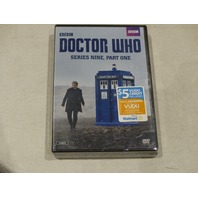 DOCTOR WHO SERIES NINE PART ONE & PART TWO (1 AND 2) DVD NEW
