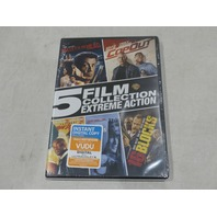 5 FILM COLLECTION: EXTREME COLLECTION DVD SET NEW / SEALED 16 BLOCKS, COP OUT +