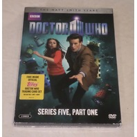 DOCTOR WHO: SERIES FIVE PART ONE (THE MATT SMITH YEARS) DVD SET NEW W/SLIPCOVER