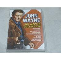 JOHN WAYNE 10-MOVIE COLLECTION DVD NEW