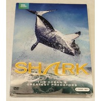 SHARK THE OCEAN'S GREATEST PREDATORS DVD NEW / WITH SLIPCOVER