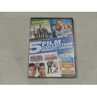 5 FILM COLLECTION: BROMANTIC COMEDIES DVD NEW/SEALED ENTOURAGE, HALL PASS & MORE