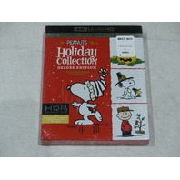 PEANUTS HOLIDAY COLLECTION DELUXE EDITION 4K ULTRA HD+BLU-RAY+DIGITAL NEW