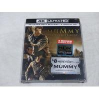 THE MUMMY ULTIMATE TRILOGY 4K ULTRA HD+BLU-RAY+DIGITAL HD NEW
