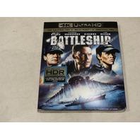 BATTLESHIP 4K ULTRA HD+BLU-RAY+DIGITAL HD NEW W/ SLIPCOVER
