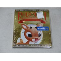 RUDOLPH RED-NOSED REINDEER 50TH ANNIVERSARY COLLECTOR'S EDITION DVD & STORYBOOK