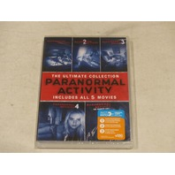 PARANORMAL ACTIVITY: THE ULTIMATE COLLECTION DVD NEW