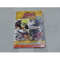 SHONEN JUMP NARUTO SHIPPUDEN THE MOVIE- RASENGAN COLLECTION DVD SET NEW W/  SLIP