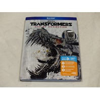 TRANSFORMERS AGE OF EXTINCTION BLU-RAY NEW