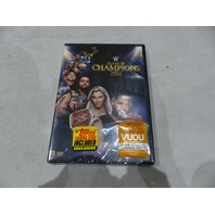 WWE CLASH OF CHAMPIONS 2016 DVD NEW