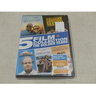5 FILM COLLECTION: THE GOLDEN YEARS DVD SET NEW BUCKET LIST, GRUMPY OLD MEN +