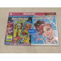 MONSTER HIGH: ELECTIFIED BLU-RAY+DVD+DIGITAL HD FRIGHTS, CAMERA, ACTION! DVD SET