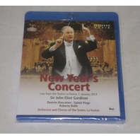 NEW YEAR'S CONCERT 2013 LIVE FROM THE TEATRO LE FENICE SIR JOHN GARDINER BLU RAY