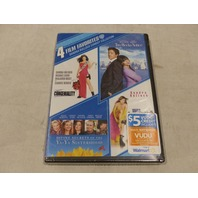 4 FILM FAVORITES: SANDRA BULLOCK COMEDY COLLECTION DVD NEW