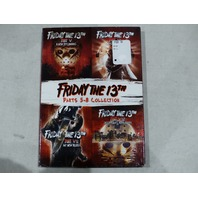 FRIDAY THE 13TH PARTS 5-8 COLLECTION DVD NEW