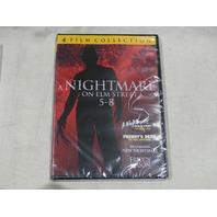 A NIGHTMARE ON ELM STREET 5-8 DVD NEW
