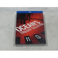 OCEAN'S TRILOGY COLLECTION BLU-RAY SET NEW