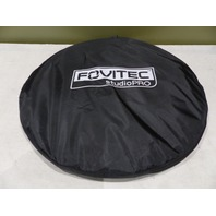 "FOVITEC STUDIOPRO 59"" X 78"" IN BLUE POP-OUT MUSLIN BACKDROP & CASE"