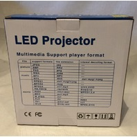 GENERIC LED PROJECTOR MULTIMEDIA SUPPORT PLAYER 320*240 PIXELS 16W YMP-248471