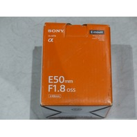 SONY SEL50F18 50MM F 1.8 LENS