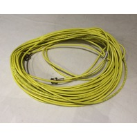 BELDEN 65FT RG-59 1855A MINI HD-SDI 4.5GHZ 1C23 PRECISION VIDEO CABLE YELLOW NEW