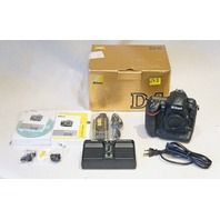 NIKON D4 16.2MP CMOS FX DIGITAL SLR CAMERA WITH FULL 1080P HD BODY +CHARGER NEW