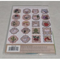 ANITA GOODESIGN EMBROIDERY SOFTWARE TOWEL TOPPERS PACK PROJ56