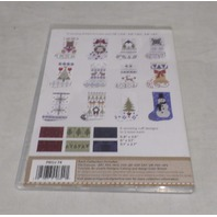 ANITA GOODESIGN EMBROIDERY SOFTWARE ALPINE HOLIDAY STOCKINGS PACK PROJ74
