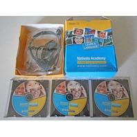 NATIVELY ACADEMY 3X LANGUAGE CDS LEARN SPANISH LVL1/2/3