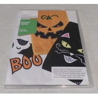 ANITA GOODESIGN EMBROIDERY SOFTWARE SPOOKY FACES PACK PROJ71