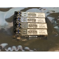 4*ALCATEL LUCENT 1AB187280065 3G 15KM SFP TRANSCEIVER MODULE