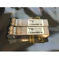 2* AVAGO AFBR-57RAPZ 850 nm LASER PROD 21CFR CLASS 1 TRANSCEIVER MODULE