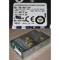 INTEGRATED POWER DESIGNS IPD REL-185-2007-OVP 185W NEW