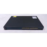 CISCO CATALYST 3560 POE-24 WS-C3560-V2-24PS-E V08 SWITCH