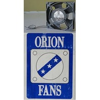 ORION FANS OA109 SERIES METAL 3000 RPM 120 * 120 * 38mm 110 CFM 230V AC FAN