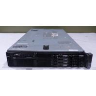 DELL POWEREDGE R710 2U SERVER 2* INTEL 2.40GHZ 8* 8GB 64GB 5* 146GB HDD 2* PSU