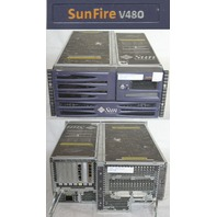 SUNFIRE V480 RACK SERVER 4 * 1.2GHZ 32GB QUAD GIGABIT