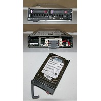 HP PROLIANT BLADE SERVER BL460C 2*QC 2.5GHZ E5420 32GB