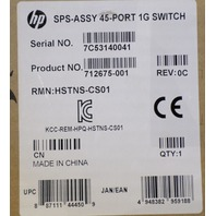 HP SPS-ASSY 45-PORT 1G SWITCH 712675-001 NEW