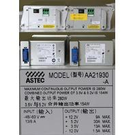ASTEC AA21930 280W POWER SUPPLIES CISCO 34-1729-02 C7200 7200 DC POWER SUPPLY