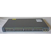 CISCO CATALYST 2960 SERIES WS-C2960-48TC-S 48-PORT MANAGED ETHERNET SWITCH
