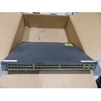 CISCO 48-PORT SWITCH WS-C3750-48PS-S