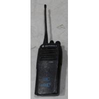 MOTOROLA HANDHELD RADIO CP200D W/ ANTENNA